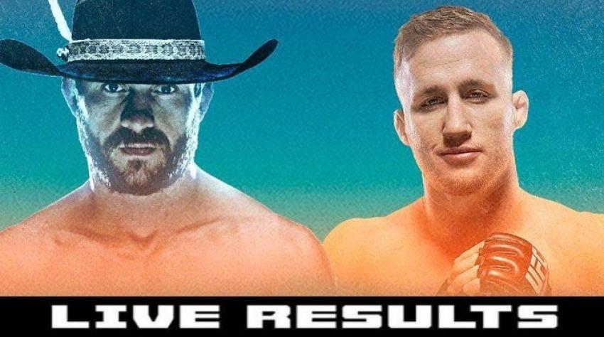 Результаты турнира UFC Fight Night 158: Дональд Серроне - Джастин Гэтжи