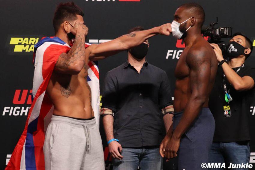 Видео боя Маки Питоло - Даррен Стюарт UFC on ESPN+ 32