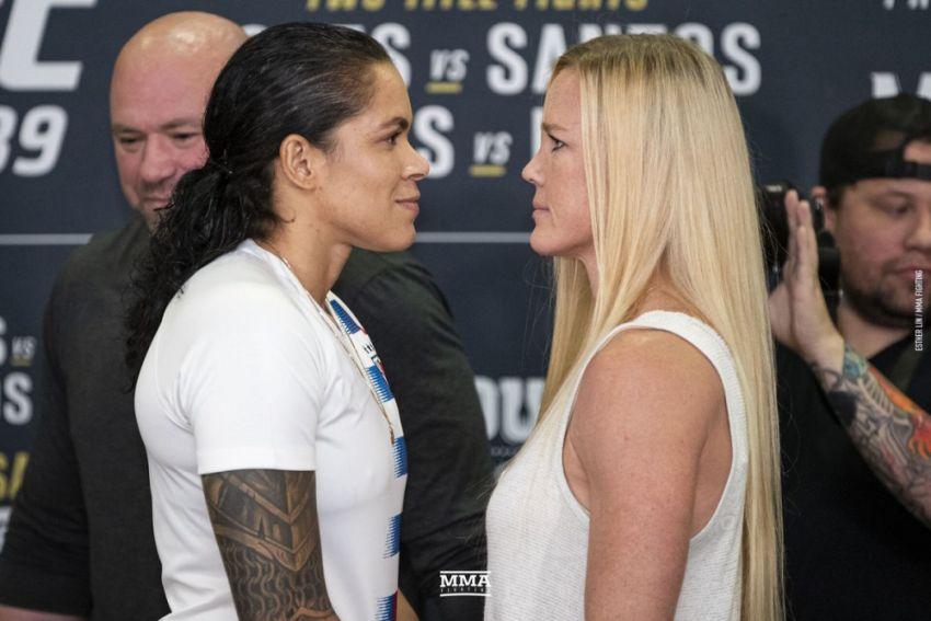 Прогноз на бой Аманда Нуньес - Холли Холм на UFC 239