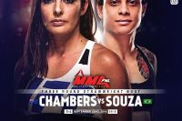 Видео боя Ливинья Соуза - Алекс Чемберс UFC Fight Night 137