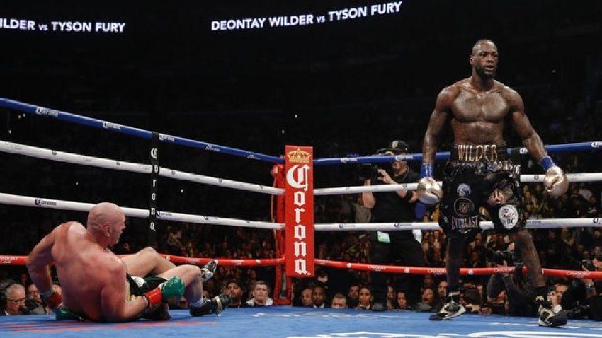 """Деонтей Уайлдер: """"Я без вопросов победил в первом бою с Фьюри"""""""