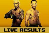 Файткард турнира UFC 262