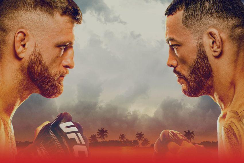 Файткард турнира UFC on ESPN 13: Келвин Каттар - Дэн Иге