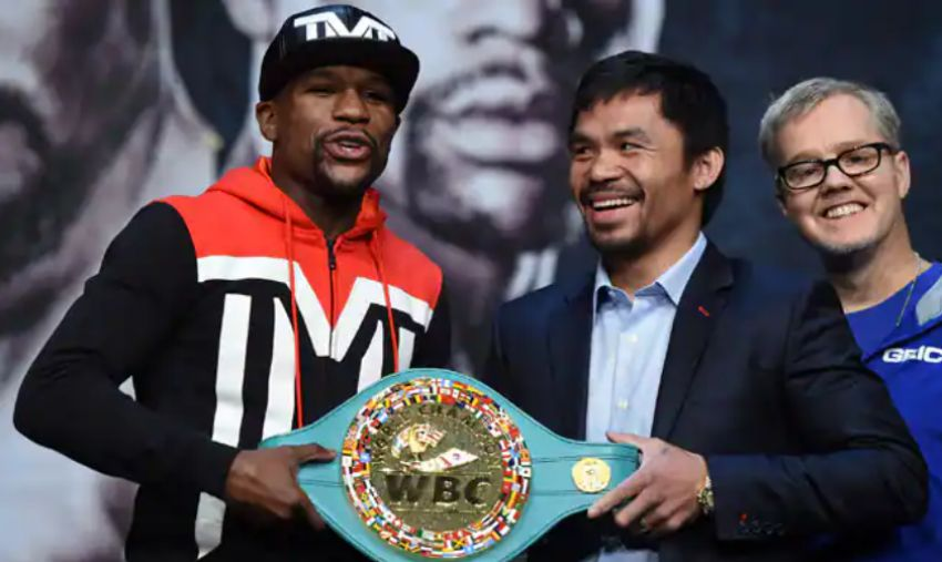 Boxing news: Manny Pacquiao's trainer has questioned Floyd Mayweather's record