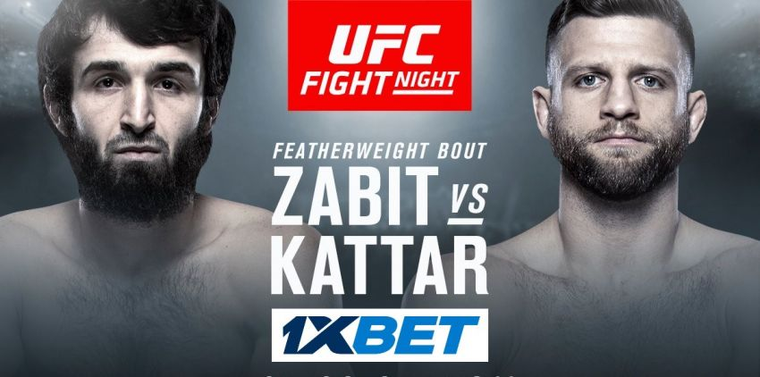 Ставки на UFC Fight Night 163: Коэффициенты букмекеров на турнир Забит Магомедшарипов - Келвин Каттар