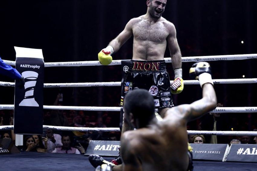 """Мурат Гассиев: """"Я ожидал, что Дортикос подсядет во второй половине боя"""""""