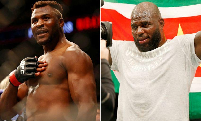 Бой Фрэнсиса Нганну против Жаирзиньо Розенштруйка возглавит мартовский турнир UFC в Коламбусе
