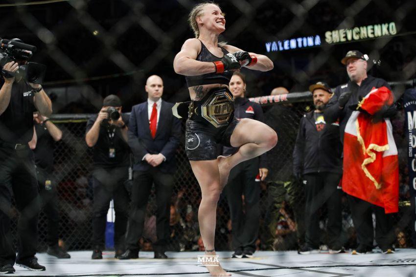 Валентина Шевченко получила соперницу для поединка на UFC 251