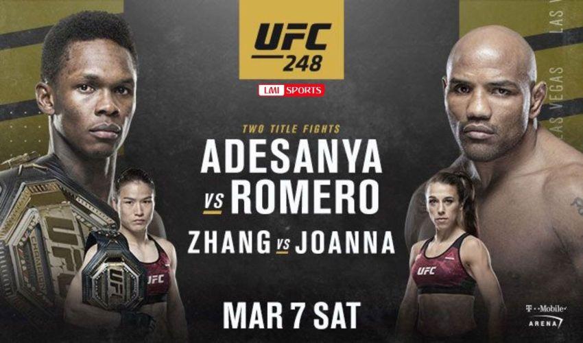 UFC 248 Исраэль Адесанья – Йоэль Ромеро. Смотреть онлайн прямой эфир
