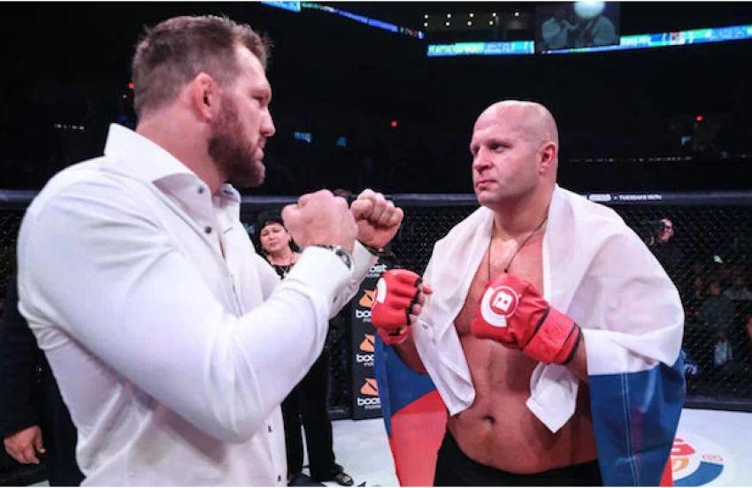 Ставки Bellator: Райан Бэйдер открылся явным фаворитом боя с Федором Емельяненко