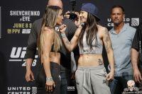 Видео боя Татьяна Суарес - Нина Ансарофф UFC 238