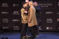 Битва взглядов участников турнира UFC Fight Night 143: Сехудо - Диллашоу