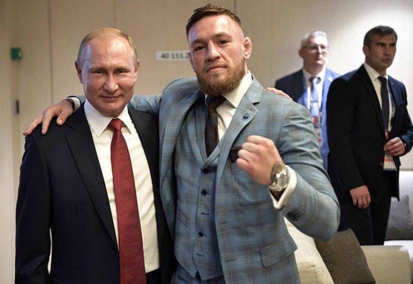 Слух: Владимир Путин и Конор МакГрегор могут посетить турнир UFC 242 в Абу-Даби