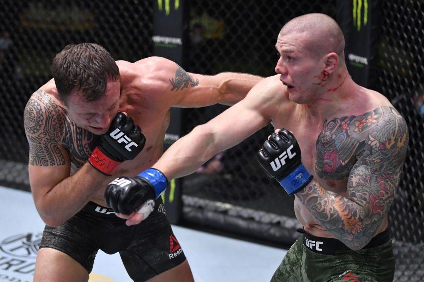 Медицинские отстранения участников турнира UFC on ESPN 19: Джек Херманссон – Марвин Веттори