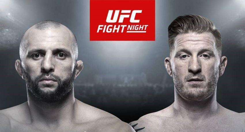 Гаджимурад Антигулов выступит на турнире UFC в Москве против Эда Хермана