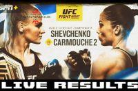 Результаты турнира UFC Fight Night 156: Валентина Шевченко - Лиз Кармуш