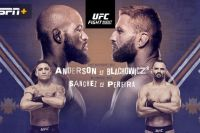 Файткард турнира UFC Fight Night 167: Кори Андерсон - Ян Блахович 2