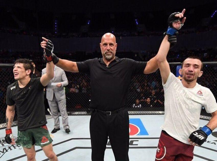 Аскар Аскаров прокомментировал ничью с Морено на UFC Fight Night 159