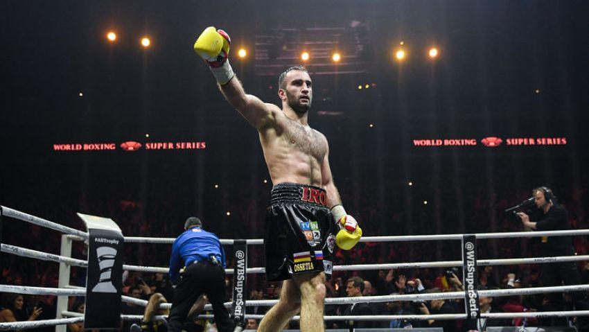 Мурат Гассиев вернул пояс чемпиона WBA Юниеру Дортикосу