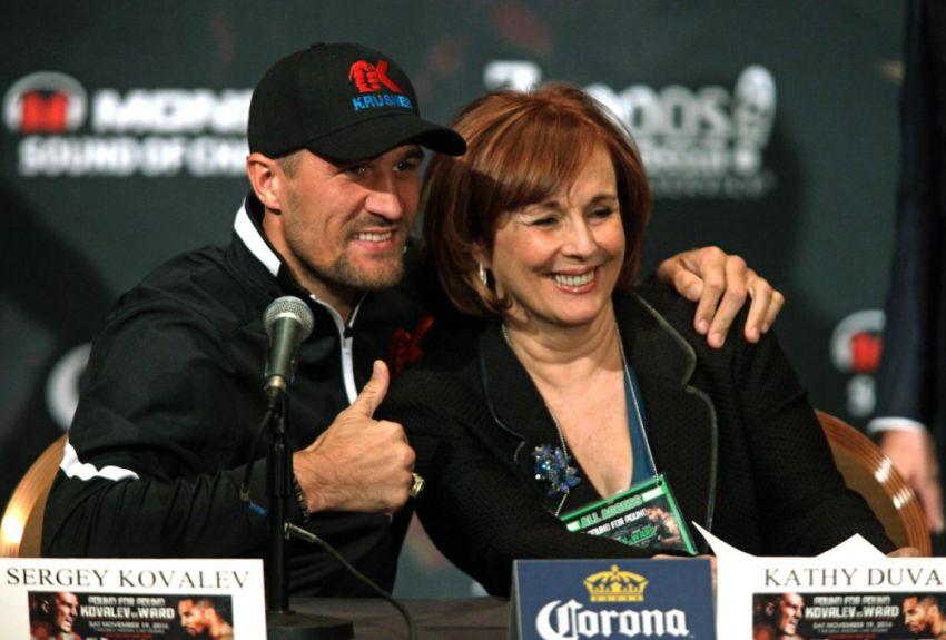 Кэти Дува прояснила ситуацию вокруг возможного боя Ковалева против Сауля Альвареса