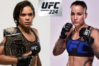 Видео боя Аманда Нуньес - Ракель Пеннингтон UFC 224