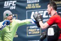 Хайлайты открытой тренировки UFC 194