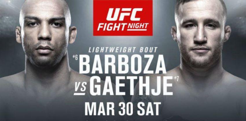 РП ММА №13 (UFC ON ESPN 2): 31 марта