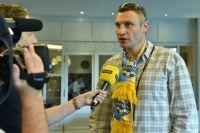 Виталий Кличко: «Жаль, что не пришел в раздевалку сборной Украины перед матчем с Хорватией»
