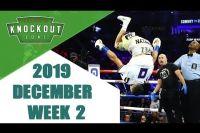 Лучшие Нокауты (Декабрь 2019 - 2 Неделя)