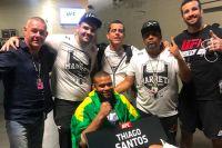 Тиаго Сантос обратился к фанатам после своего поражения Джону Джонсу