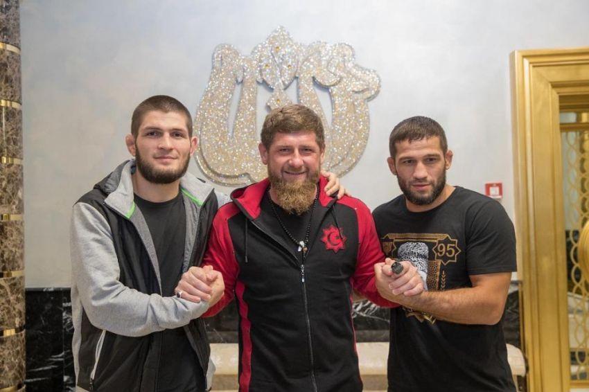 Рамзан Кадыров поддержал Шамиля Завурова после поражения