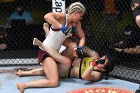Яна Куницкая победила Кетлен Виейру в со-главном бою UFC Fight Night 185