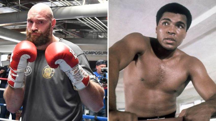 Тайсон Фьюри похвалил братьев Кличко и Усика и заявил, что побил бы любого боксёра в истории
