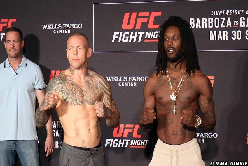 Видео боя Дезмонд Грин - Росс Пирсон UFC on ESPN 2