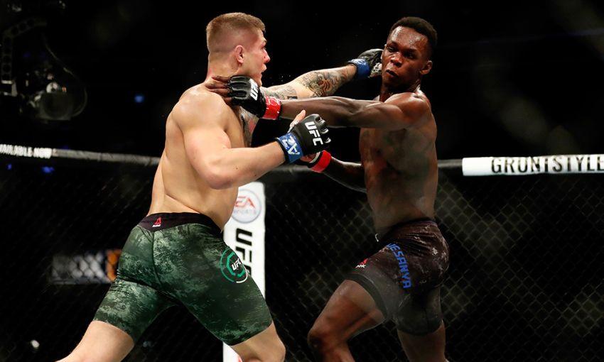 Официально: Исраэль Адесанья проведет реванш с Марвином Веттори на UFC 263