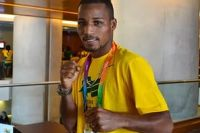 Бразилец Робсон Консейсао – олимпийский чемпион по боксу в весе до 60 кг