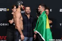 Видео боя Ислам Махачев - Тиаго Мойзес UFC on ESPN 26