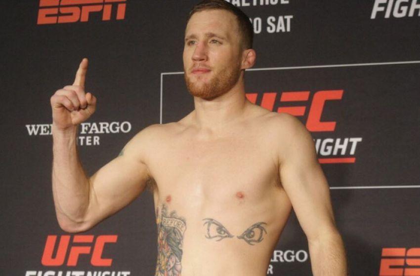 Взвешивание участников турнира UFC on ESPN 2: Эдсон Барбоза - Джастин Гэтжи