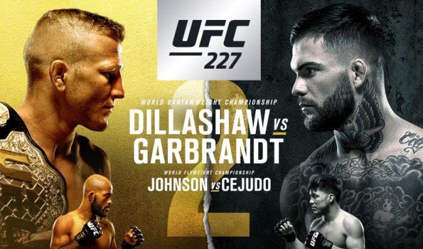 РП ММА №25: UFC 227 Диллашоу vs. Гарбрандт 2