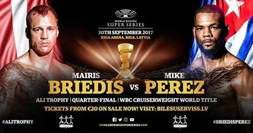 Майрис Бриедис против Майка Переса. Видео зарисовки перед боем.