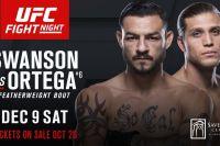 РП ММА №24 ufc fight night 123 swanson vs ortega