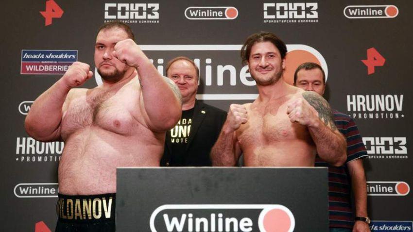 Брюс Хлебников и Денис Вильданов не смогли определить победителя