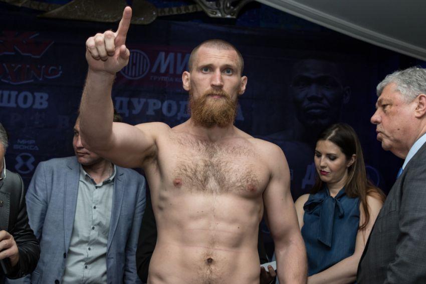 Дмитрий Кудряшов назвал своего возможного соперника