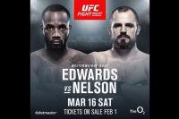 Видео боя Леон Эдвардс - Гуннар Нельсон UFC Fight Night 147
