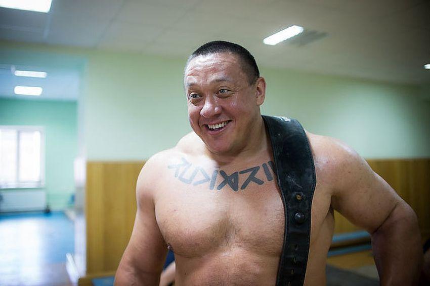 Михаил Кокляев провел тренировку в зале, где занимался Александр Усик