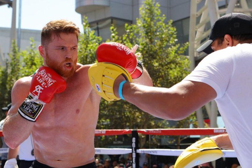 Энтони Джошуа считает Сауля Альвареса лучшим бойцом мира