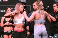 Видео боя Александра Албу - Эмили Уитмайр UFC on ESPN 1