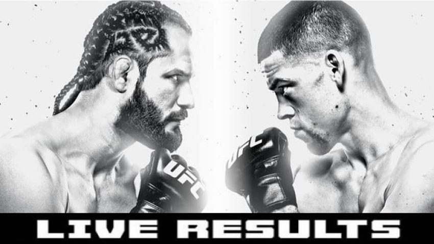 Результаты турнира UFC 244: Хорхе Масвидаль - Нейт Диас