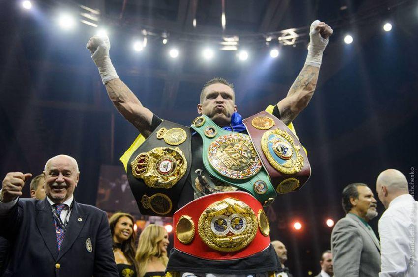 """Александр Усик: """"Я стану абсолютным чемпионом мира в двух весовых категориях"""""""