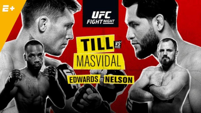 Файткард турнира UFC Fight Night 147: Даррен Тилл - Хорхе Масвидаль